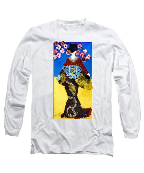The Geisha Long Sleeve T-Shirt