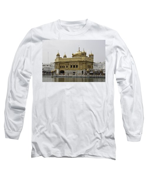 Long Sleeve T-Shirt featuring the photograph The Golden Temple In Amritsar by Ashish Agarwal