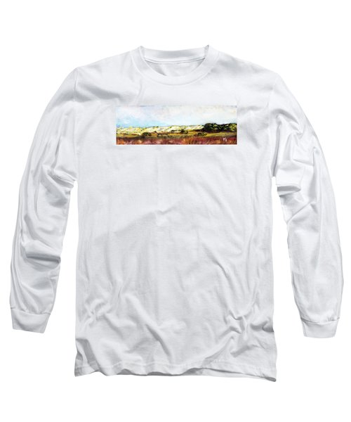 Behind The Surge Long Sleeve T-Shirt by Michael Helfen