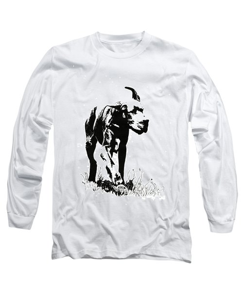The Great Dane Long Sleeve T-Shirt by Kate Black