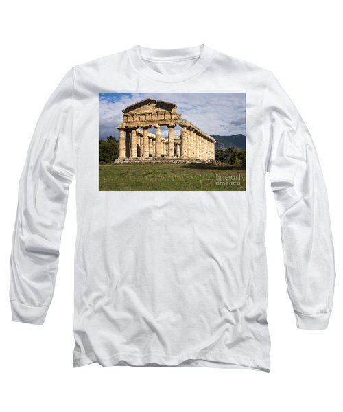 The Greek Temple Of Athena Long Sleeve T-Shirt