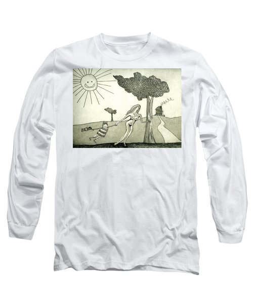 The Hands Of Time Long Sleeve T-Shirt