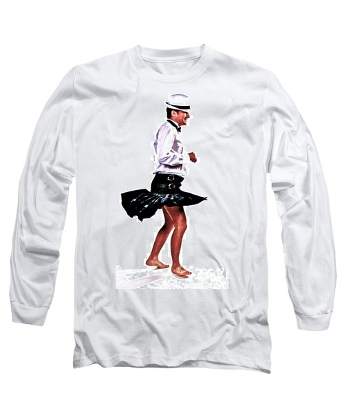 Long Sleeve T-Shirt featuring the photograph The Happy Dance by Xn Tyler