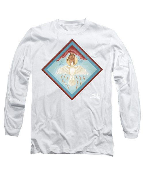 The Holy Spirit The Lord The Giver Of Life The Paraclete Sender Of Peace 093 Long Sleeve T-Shirt