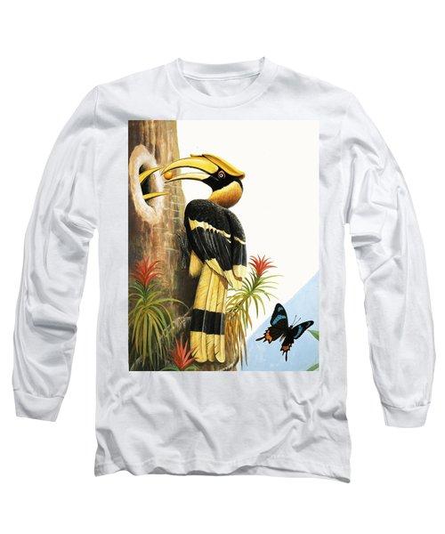 The Hornbill Long Sleeve T-Shirt