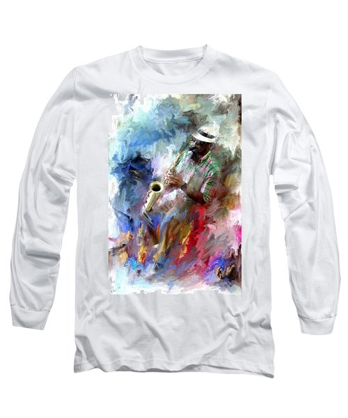 The Jazz Player Long Sleeve T-Shirt