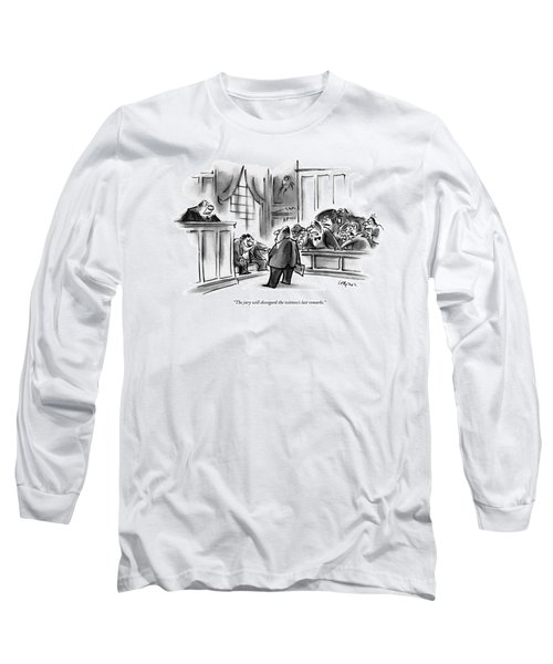 The Jury Will Disregard The Witness's Last Long Sleeve T-Shirt