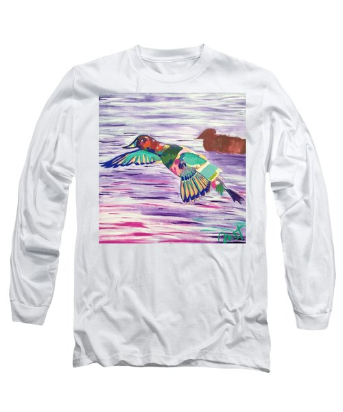 The King Canvasback Long Sleeve T-Shirt