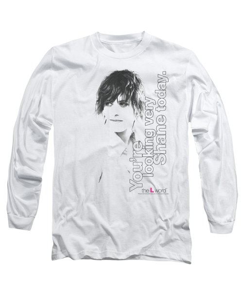 The L Word - Looking Shane Today Long Sleeve T-Shirt