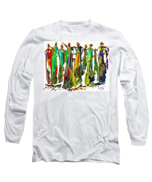 The Ladies Long Sleeve T-Shirt by Bernadette Krupa