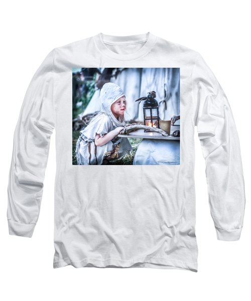 The Leprosy Child And The Healing Lantern Long Sleeve T-Shirt