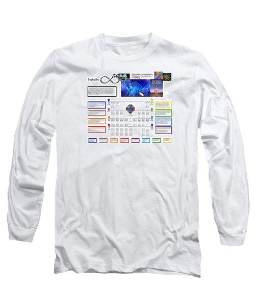 Lightspeed Reading  Long Sleeve T-Shirt by Peter Hedding