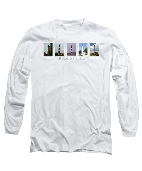The Lights Of The Outer Banks Long Sleeve T-Shirt