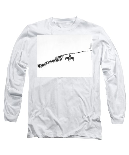 The Long Long Line Long Sleeve T-Shirt
