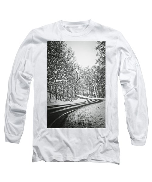 The Long Road Of Winter Long Sleeve T-Shirt