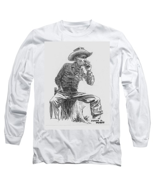 The Lookout Long Sleeve T-Shirt by Duane R Probus