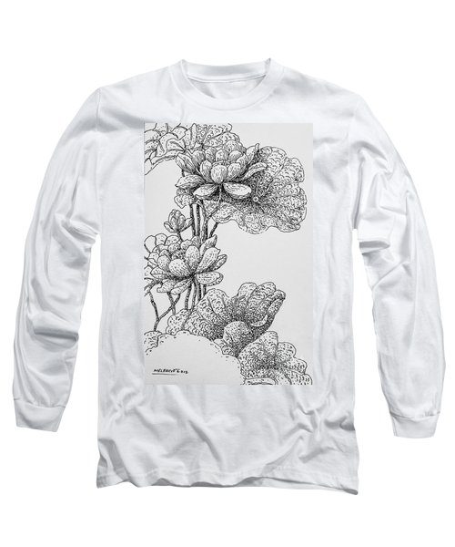 The Lotus Flower Long Sleeve T-Shirt