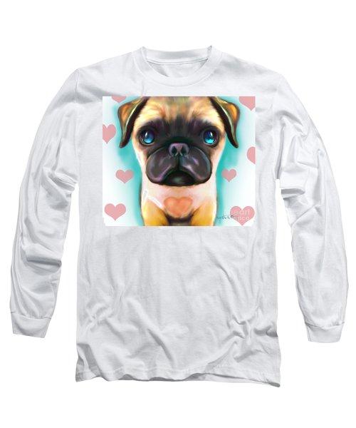 The Love Pug Long Sleeve T-Shirt
