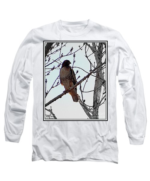 The Majestic Hawk Long Sleeve T-Shirt