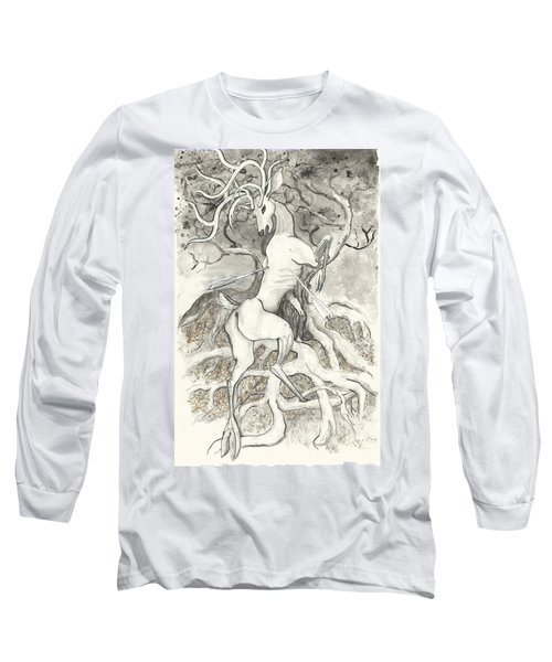 The Martyr Long Sleeve T-Shirt by Melinda Dare Benfield