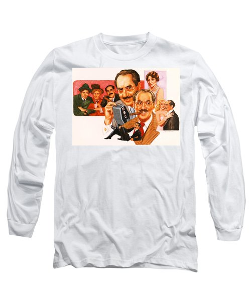 The Marx Brothers Long Sleeve T-Shirt