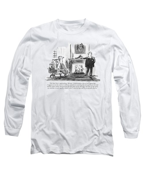 The New Year Is Approaching Long Sleeve T-Shirt