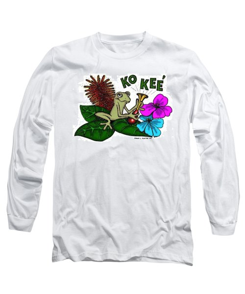 The Night Sound Of Puerto Rico Long Sleeve T-Shirt by Frank Hunter