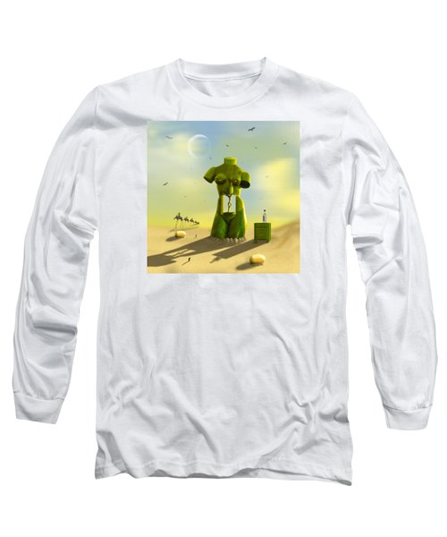 The Nightstand Long Sleeve T-Shirt by Mike McGlothlen