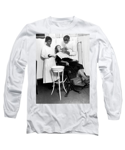 The North Harlem Dental Clinic Long Sleeve T-Shirt by Underwood Archives