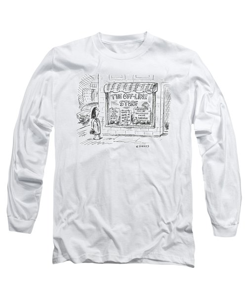The Off-line Store Long Sleeve T-Shirt