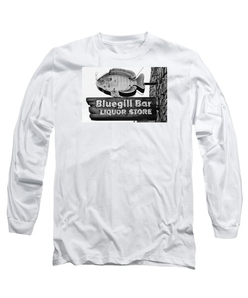 The Old Watering Hole Long Sleeve T-Shirt by Bruce Bley