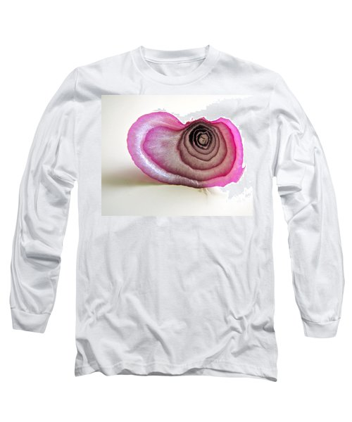 Long Sleeve T-Shirt featuring the photograph The Onion Remnant by Sean Griffin