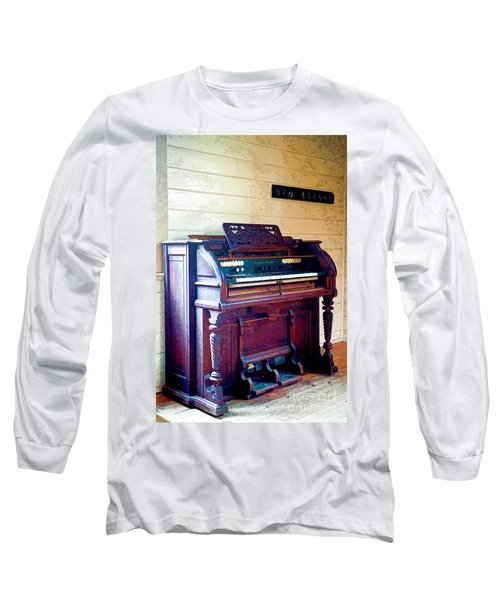 The Piano Long Sleeve T-Shirt by Yew Kwang