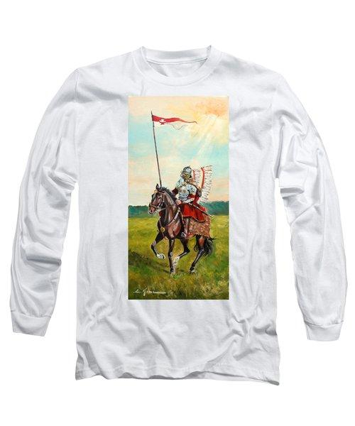 The Polish Winged Hussar Long Sleeve T-Shirt