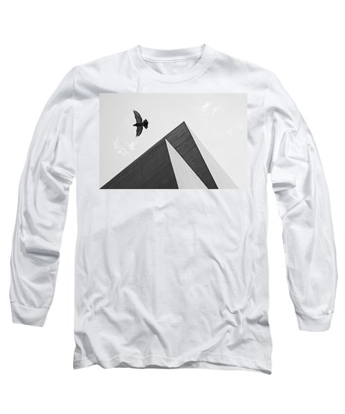 The Pyramids Of Love And Tranquility Long Sleeve T-Shirt