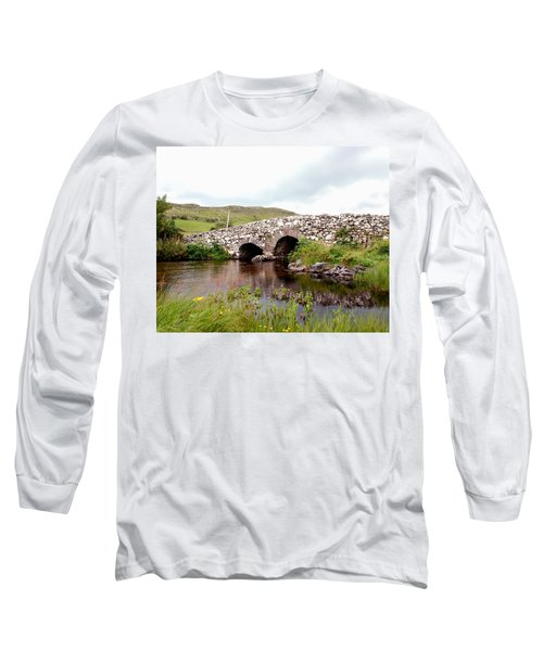 The Quiet Man Bridge Long Sleeve T-Shirt by Charlie and Norma Brock