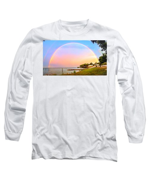 The Rainbow Long Sleeve T-Shirt by Carlos Avila