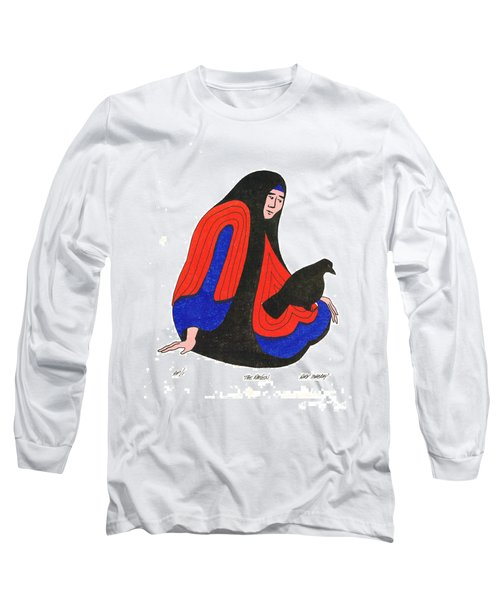 The Raven From Artist Proof 1 Long Sleeve T-Shirt