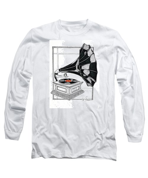 The Real Caruso Long Sleeve T-Shirt by Ira Shander