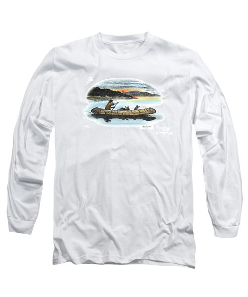The Red Paint People Arrive Long Sleeve T-Shirt