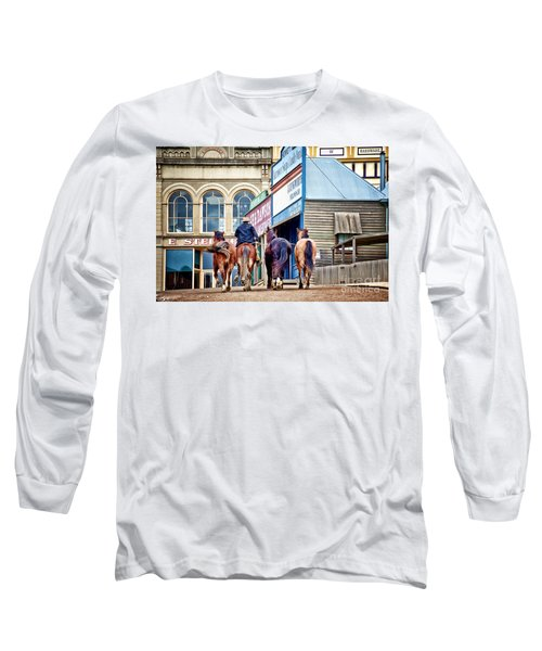 Long Sleeve T-Shirt featuring the photograph The Rider by Yew Kwang