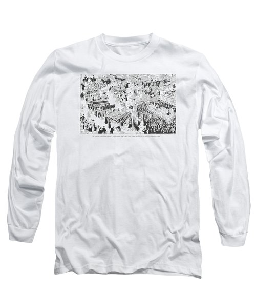 The Rightist Opposition Forms A United Front Long Sleeve T-Shirt