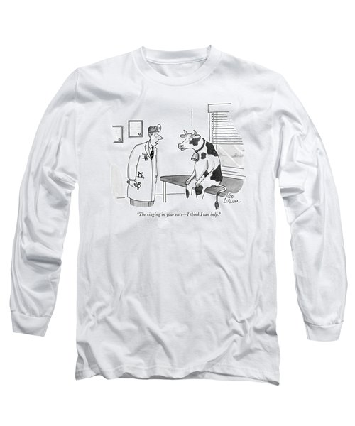 The Ringing In Your Ears - I Think I Can Help Long Sleeve T-Shirt