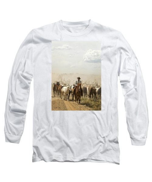 The Road Home 2013 Long Sleeve T-Shirt by Joan Davis