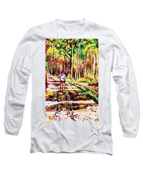 The Road Not Taken Long Sleeve T-Shirt