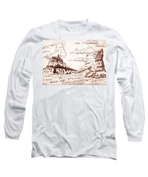The Rocks Long Sleeve T-Shirt by Dustin Miller