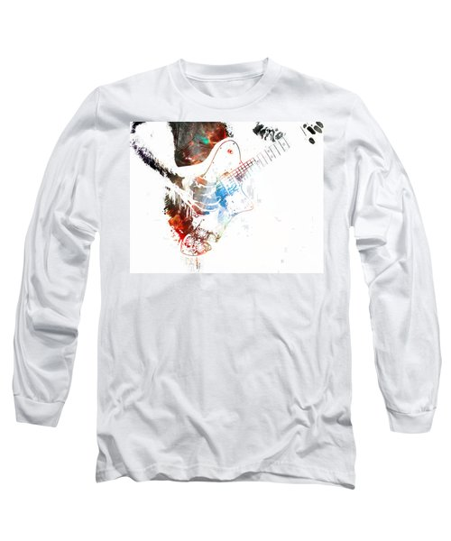 The Roll Of Rock  Long Sleeve T-Shirt by Jerry Cordeiro