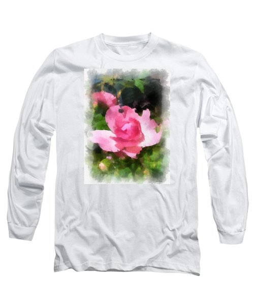 The Rose Long Sleeve T-Shirt by Kerri Farley