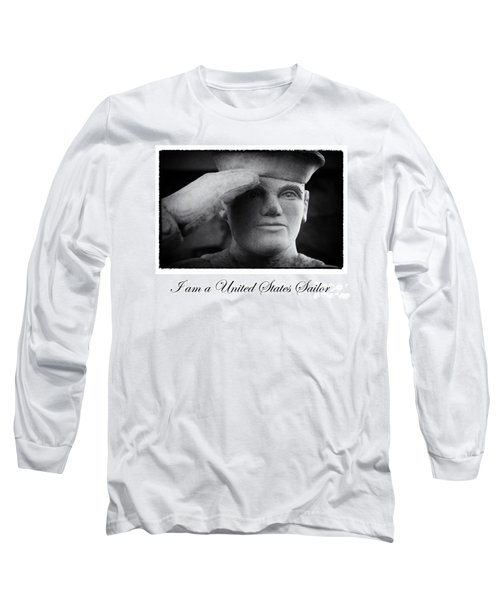 The Sailors Creed Long Sleeve T-Shirt