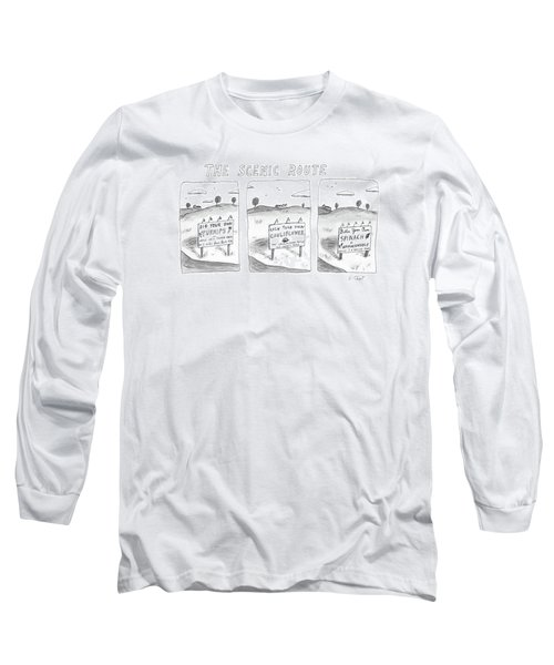 The Scenic Route Long Sleeve T-Shirt